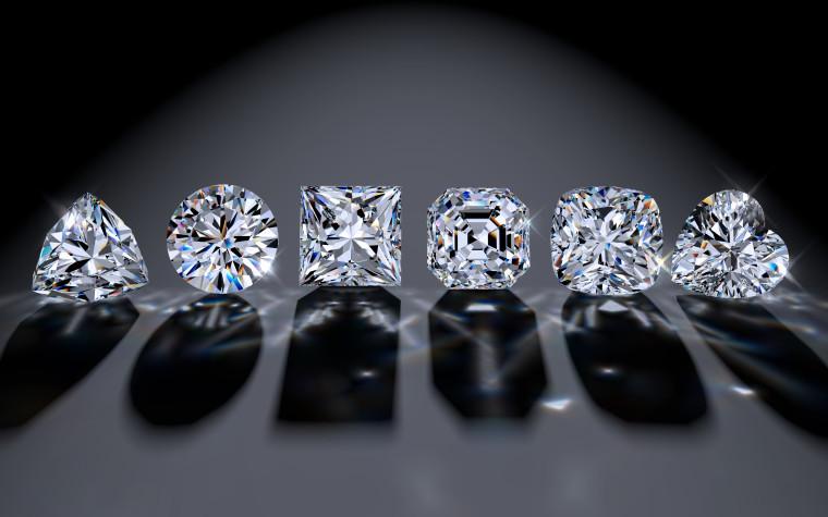 Six,Diamond,Of,The,Most,Popular,Cutting,Styles:,Round,Brilliant,